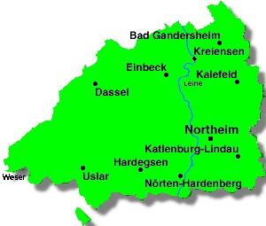 Karte Kreis Nordheim