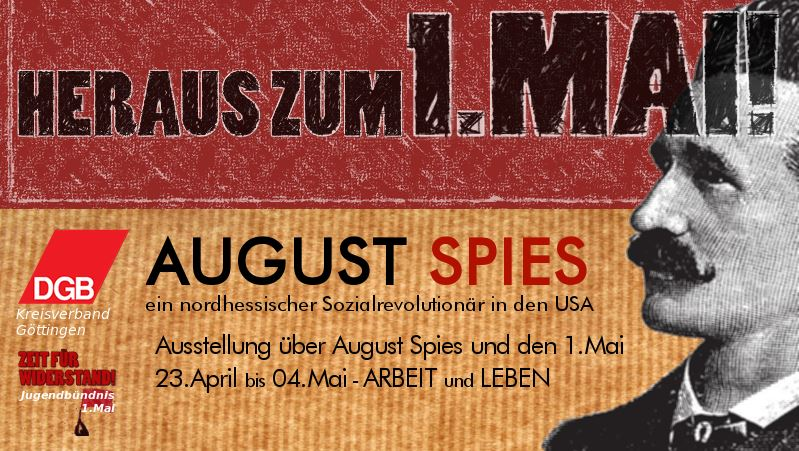 Banner Ausstellung Spies