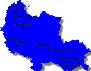 Karte Kreis Osterode