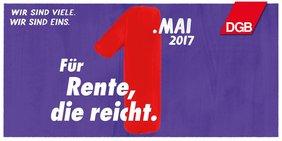 1. Mai 2017 Motiv Rente