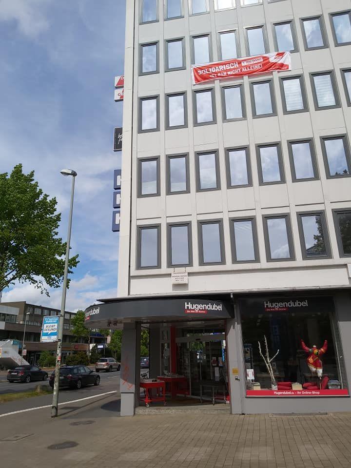Das DGB-Regionsbüro in der Weender Landstr. 6 Göttingen