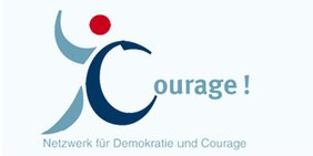 Logo Netzwerk für Demokratie und Courage