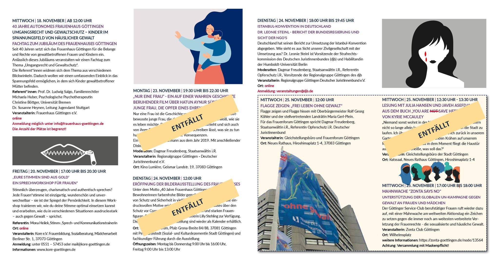 Programm-Flyer, Seite 2