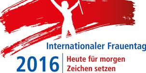 Logo Internationaler Frauentag 2016