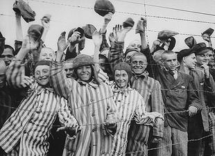 Befreiung der Überlebenden im KZ Dachau